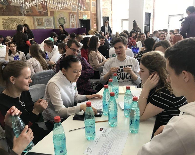 В Забайкалье студенты сыграли с министрами в «Мозгобойню»