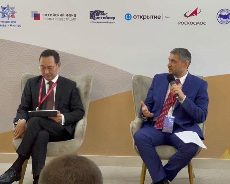 «Такой есть только у нас»: Александр Осипов рассказал участникам ВЭФ-2021 о кадровом проекте «Забайкальский призыв»